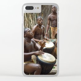 South Africa Clear iPhone Case