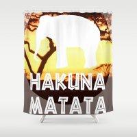 safari Shower Curtains featuring Safari by KLDESIGN