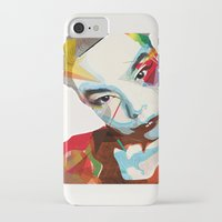 bjork iPhone & iPod Cases featuring Bjork by Zaneta Antosik
