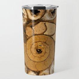 An ancient treasure in browns Travel Mug