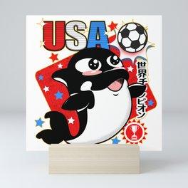 World Soccer Champs Mini Art Print