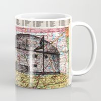 oklahoma Mugs featuring Oklahoma by Ursula Rodgers