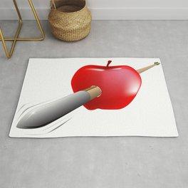 Arrow And Apple Rug
