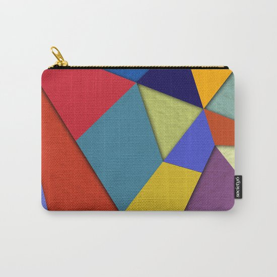 Abstract #207 Carry-All Pouch