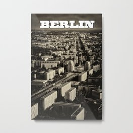 Berlin Blocks Metal Print