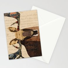 Moose Collage Stationery Cards