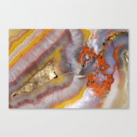 agate Canvas Prints featuring agate by Cm1003