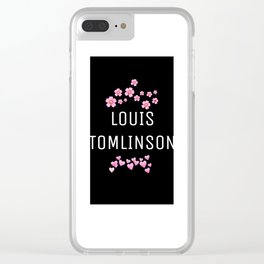 LOUIS TOMLINSON Clear iPhone Case