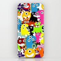 aliens iPhone & iPod Skins featuring ALIENS  by d.ts