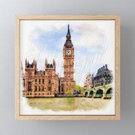 London Calling Framed Mini Art Print