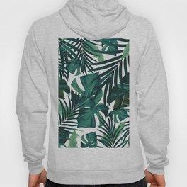 Tropical Jungle Leaves Pattern #1 #tropical #decor #art #society6 Hoody