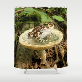 Toad Stool. Shower Curtain
