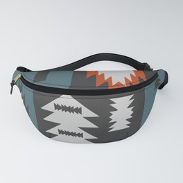 Tribal cacti Fanny Pack