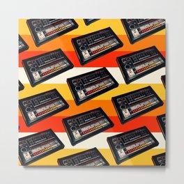 808 Pattern - Stripes Metal Print