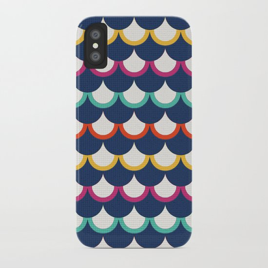 Retro Scales iPhone Case