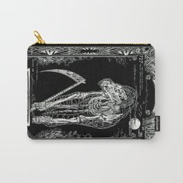 DEATH of Tarot Cat Carry-All Pouch
