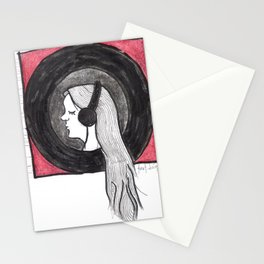 Lily's Music Stationery Cards