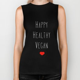 Happy Vegan Biker Tank