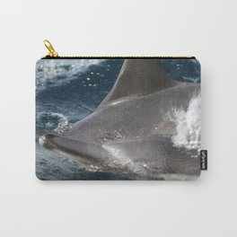 Common Dolphins Carry-All Pouch