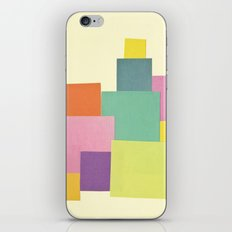 Patchwork iPhone Skin