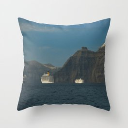 Santorini, Greece 5 Throw Pillow