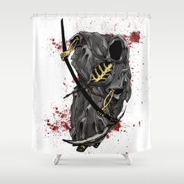 Grimm Reaper Shower Curtain