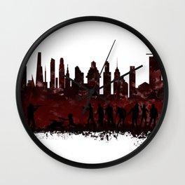 Zombie Killer Wall Clock