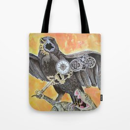 The Raven and the Serpent Tote Bag
