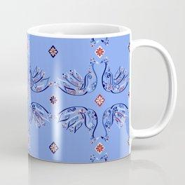 Moroccan Tile Bird Pattern Coffee Mug