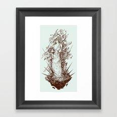 des cartisae Framed Art Print