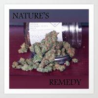 Nature's Remedy Art Print