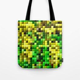 The forsythia bush mosaic Tote Bag