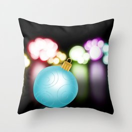 Reflections Of Christmas Throw Pillow