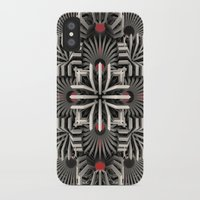 cyberpunk iPhone & iPod Cases featuring Calaabachti Matrix by Obvious Warrior