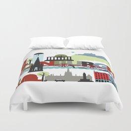 Edinburgh landmarks & monuments  Duvet Cover