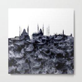 Istanbul Skyline Turkey Metal Print