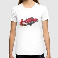 ferrari T-shirts featuring Ferrari 275 by Claeys Jelle Automotive Artwork