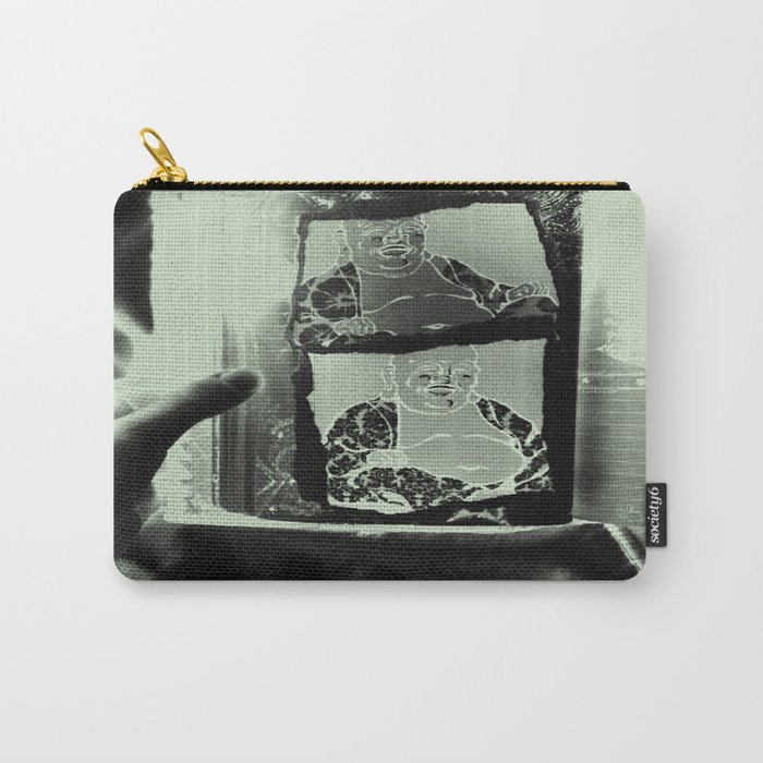 Tickling Buddha Carry-All Pouch