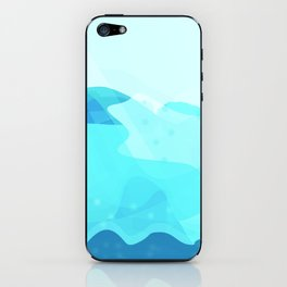 Under The Deep Blue Sea iPhone Skin