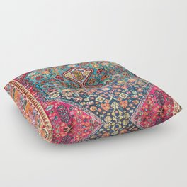 Heritage Oriental Boho Moroccan Style Design ART Floor Pillow