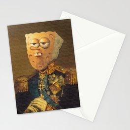 General Spongebob Portrait | Fan Art Painting Stationery Cards