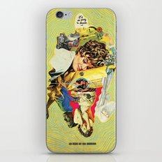 It's So Easy To Dream And So Hard To Say Goodbye iPhone & iPod Skin