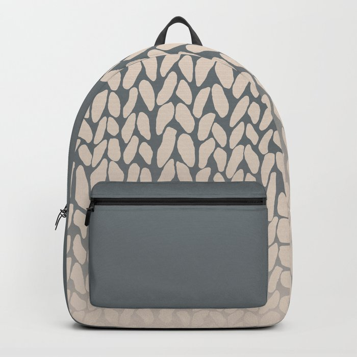 Half Knit Ombre Nat Backpack