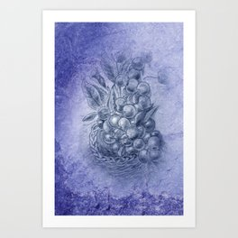fruit basket -1- Kunstdrucke