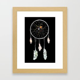 Dream Catcher Web Framed Art Print