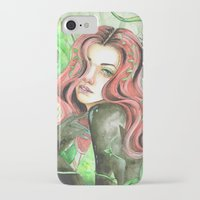poison ivy iPhone & iPod Cases featuring Poison Ivy by Mitch Antonio