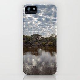 Brown Lake iPhone Case