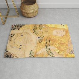 Water Serpents - Gustav Klimt Rug