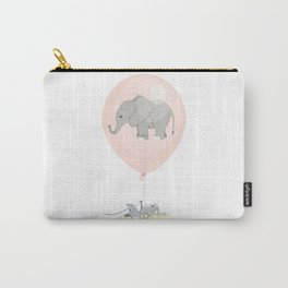 Elephant in a balloon Carry-All Pouch