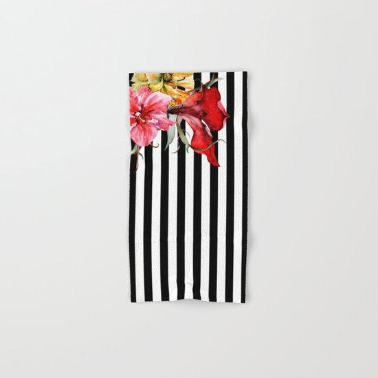 FLORA BOTANICA   stripes Hand & Bath Towel